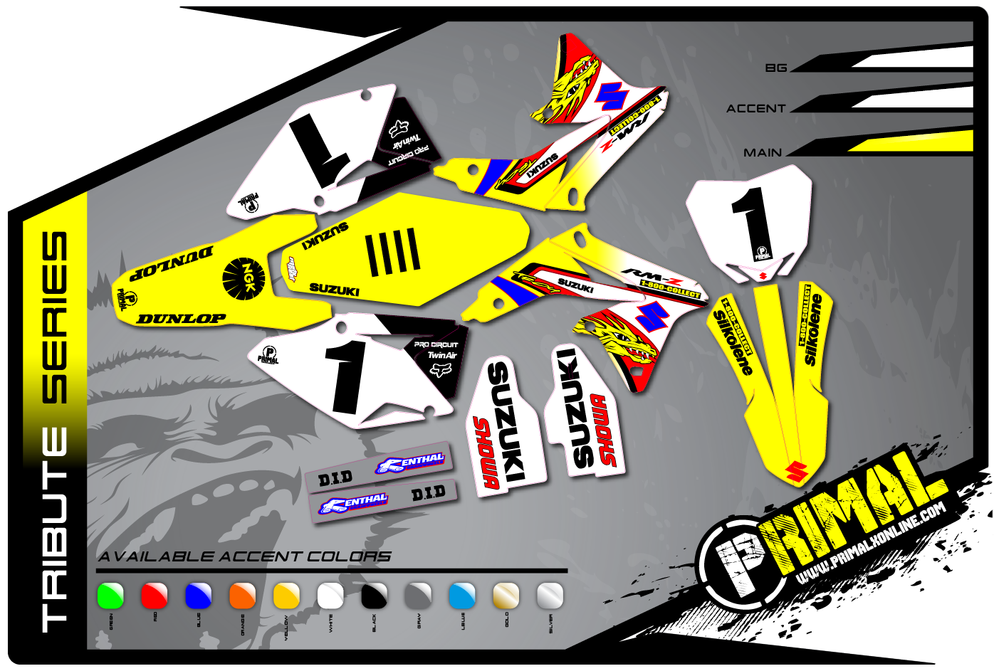 90's RETRO MX GRAPHICS | Primal X Motorsports | Motocross